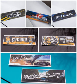 JUMBO slap sticker pack!
