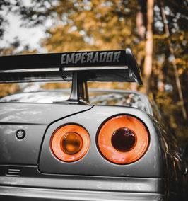 Emperador sticker - new style
