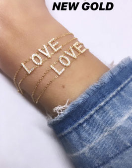 BRACELET LOVE GOLD DIAMS
