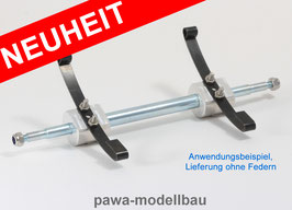 Achse für Auflieger/Anhänger 164 mm