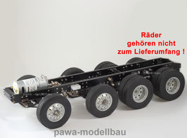 4-Achsen Fahrgestell auf Tamiya-Basis 6x8 II