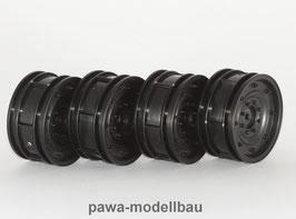 Felgen Hummer schwarz 4 Stück