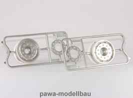 Tamiya Auflieger- Felgen breit, 2 Stück