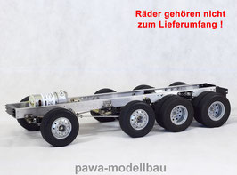 4-Achsen Fahrgestell auf Tamiya-Basis 6x8 III