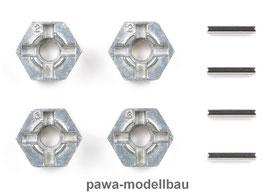 Tamiya Alu-Radmitnehmer 12mm Sechskant