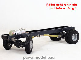2-Achs Fahrgestell 4x4, lange Ausführung