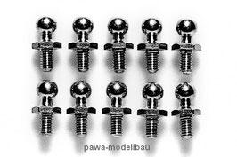 DF 02 5mm Kugelkopf M3  10 Stück