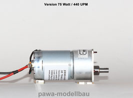 Antriebseinheit 75/440 UPM