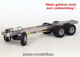 3-Achsen Fahrgestell auf Tamiya-Basis 6x6 lang