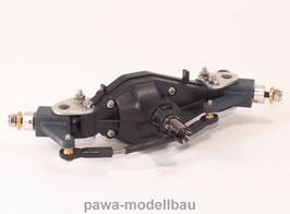 Lenkbare angetriebene Vorder-Achse mit schmalem Radstand