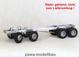 4-Achsen Fahrgestell auf Tamiya-Basis 4x8