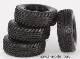 Hummer-Reifen m. Straßenprofil, 4 Stück