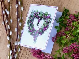 Geschenkkarte Herz