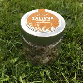 Handgeschöpftes Salz mit Bio-Hanfsamen
