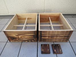 杉追加重箱・継箱 2セット (杉) 150mm