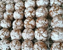 Ghoriba cacahuétes & noix de coco