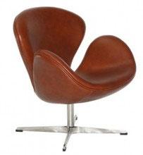 Fotel inspirowany projektem Swan