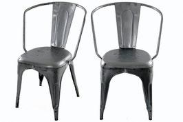 Krzesło Paris Arms - galwanizowane