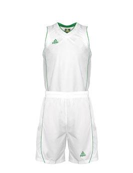 PEAK Herrenset White / Green