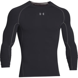 Under Armour Heat Gear Kompression Longsleeve Black / Steel