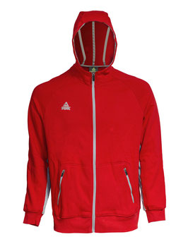 PEAK Zip Hoody Red