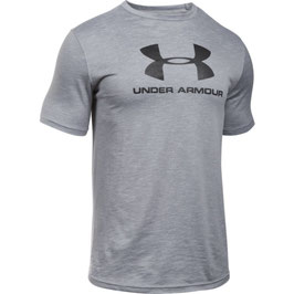 Under Armour Sportstyle Branded Tee Overcast Gray / Black