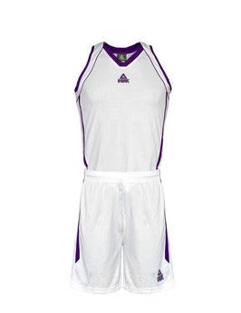 PEAK Damenset White / Purple