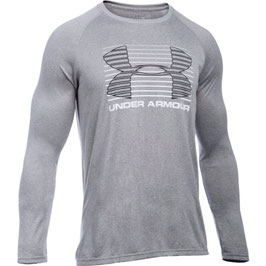 Under Armour Tech Rise Up Longsleeve Grey / White