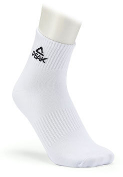 PEAK Socken Low White