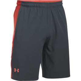 Under Armour Supervent Woven Short Stealth Grey / Phoenix Fire