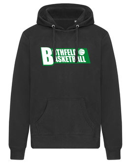 BOTHFELD Hoodie schwarz mit Block-Logo und Wunschname
