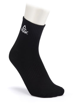 PEAK Socken Low Black