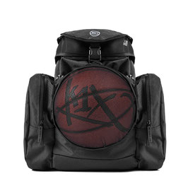 K1X CAMP BACKPACK black mit BALLNETZ