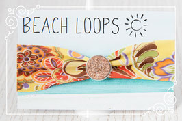 Beach Loop - Floral Gelb