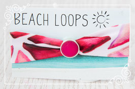 Beach Loop - Triangle Fuchsia