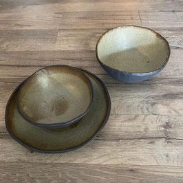 JOLO NATUR - Bowl, Müslischale, H 5 cm, Ø 14 cm