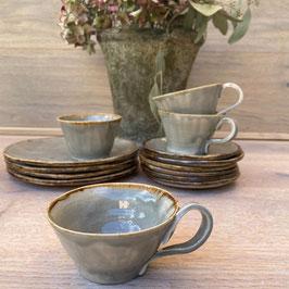 Tasse, Ø 7 cm, H 6 cm , 120 ml, Grau
