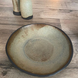 JOLO NATUR - Suppenschale/Salatschale, H 4 cm, Ø 20 cm