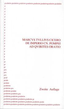 M. T. Cicero: De Imperio Cn. Pompei
