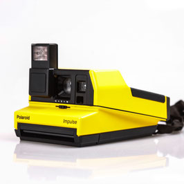 POLAROID IMPULSE JAUNE RARE