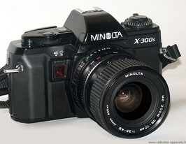 Minolta x300s + zoom standard