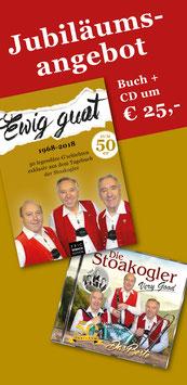 """""""50 Jahre"""" Jubiläums-Angebot: Buch """"Ewig guat"""" und CD """"Das Beste"""""""