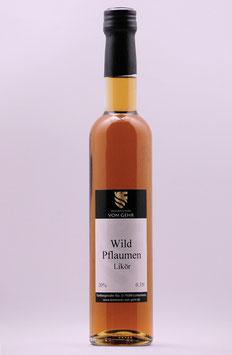 Wild-Pflaumen Likör
