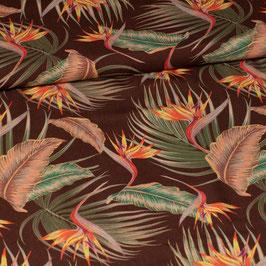 Viscose Oiseau de paradis