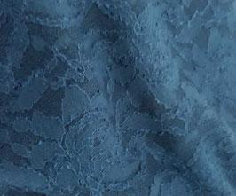 Dentelle bleu canard