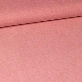 Jersey piqué rose framboise