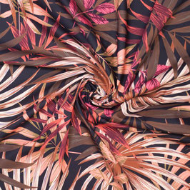 Gabardine Leaf Print