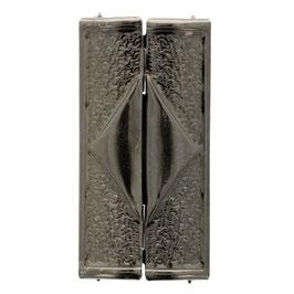 Boucle ceinture 60 mm - Argent vieilli