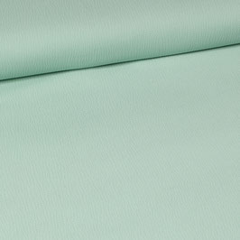 Tissu gaufré vert menthe