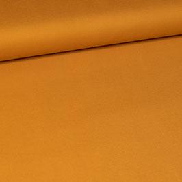 Jersey de viscose jaune ocre